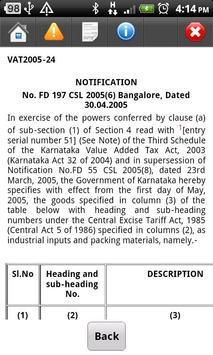 Saral Vat Info apk screenshot