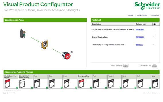 22mm Visual Configurator apk screenshot