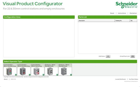 Control Stations Configurator poster