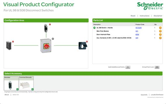 Disconnect Switch Configurator apk screenshot