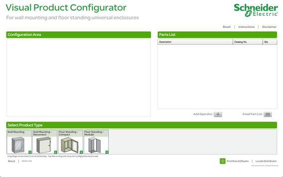 Enclosures Visual Configurator poster