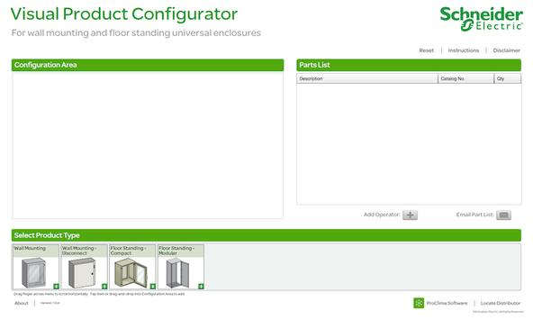 Enclosures Visual Configurator apk screenshot