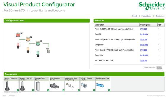 Tower Lights Configurator apk screenshot