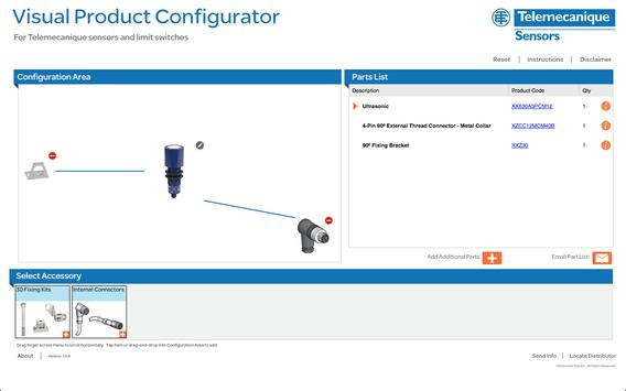 Sensors Visual Configurator poster