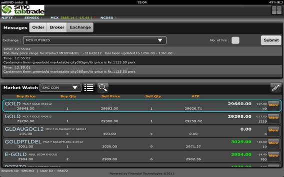 SMC tabtrade C apk screenshot