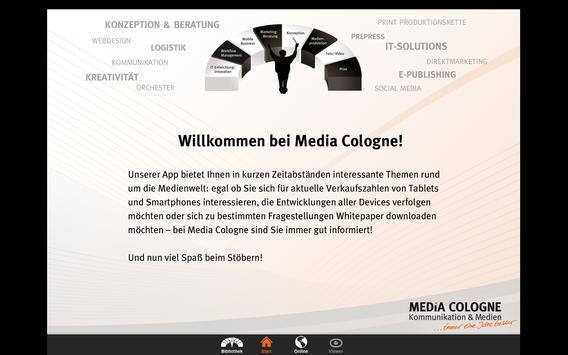 Media Cologne poster