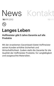 Hoffmeister.News apk screenshot