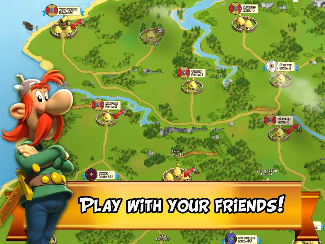 Asterix and Friends APK Download - Free Strategy GAME for ...