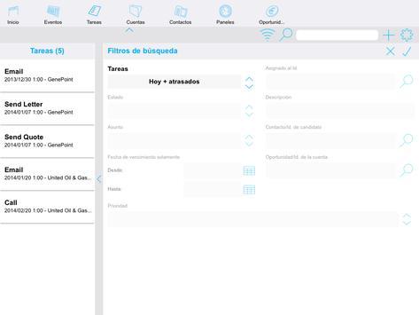 Offline Touch for salesforce apk screenshot