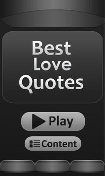 Best - Love - Quotes poster