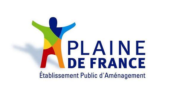 Carte de la Plaine de France poster