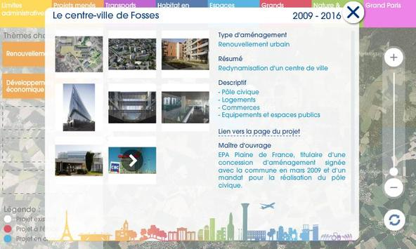 Carte de la Plaine de France apk screenshot