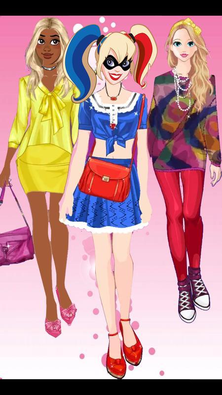 style girl dress up simulation