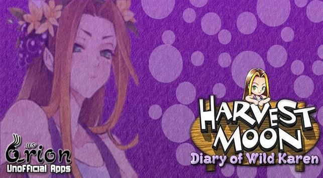 Harvest moon: Karen's Diary poster
