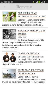 La Treccani apk screenshot