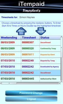 iTempaid Timesheets poster