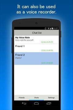 Voice It - PTT Walkie-Talkie apk screenshot