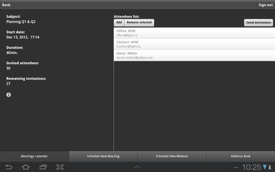 HTS Mobile apk screenshot