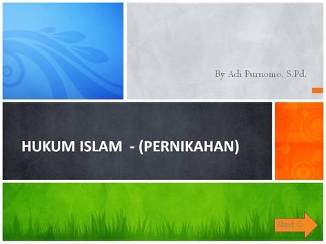 Hukum Fiqih & Perkawinan islam poster