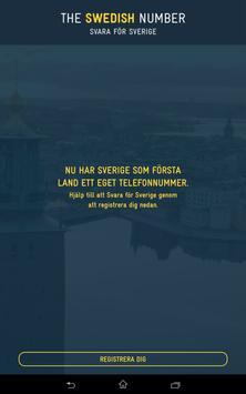 The Swedish Number apk screenshot