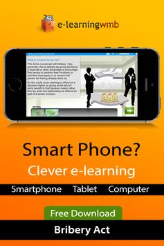 Bribery Act e-Learning poster