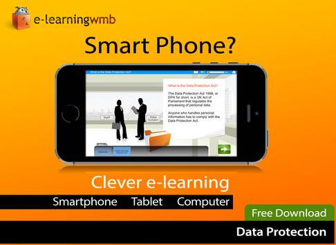 Data Protection e-Learning poster