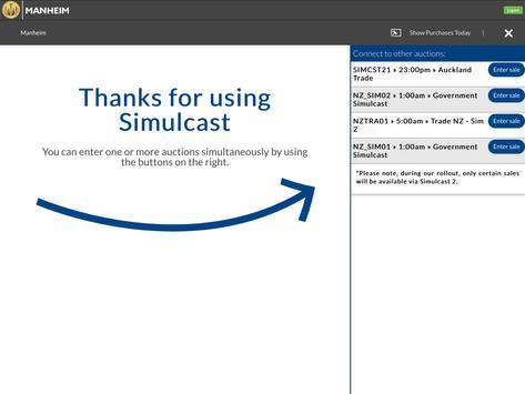 Manheim Simulcast New Zealand apk screenshot