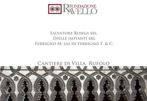 Cantiere di Villa Rufolo poster