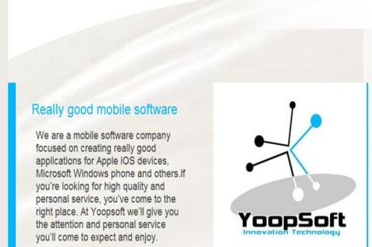 Yoopsoft poster