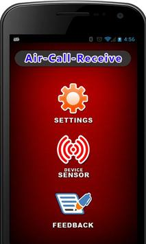 Air Call Receive/Reject poster