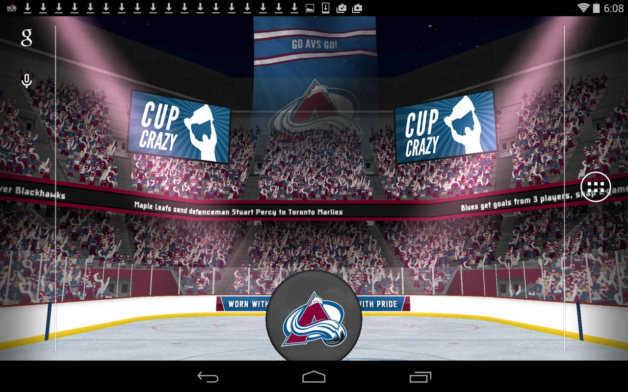 Sports Wallpaper For Android Free Download: NHL 2015 Live Wallpaper APK Download