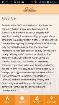 Ajit Bane Constructions apk screenshot