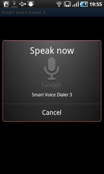 Smart Voice Dialer 3 - Trial poster