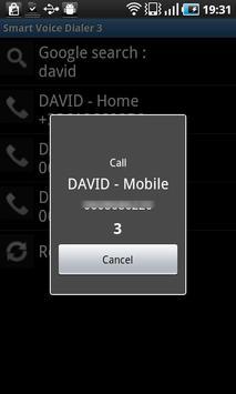 Smart Voice Dialer 3 - Trial apk screenshot
