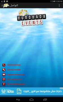 HURGHADA EVENTS apk screenshot