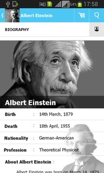 Albert Einstein Quotes apk screenshot