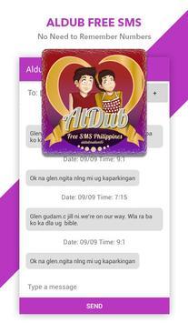 Aldub: Free SMS Philippines apk screenshot