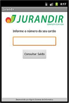 Cartão Jurandir poster