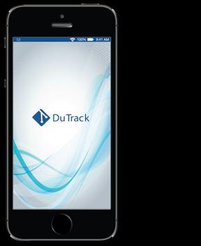 DuTrack Tracking System poster