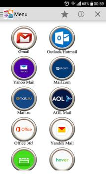All Emails apk screenshot