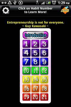 21 Entrepreneurial Habits~Free apk screenshot