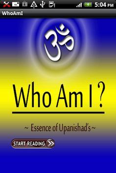 WHO AM I,Essence of Upanishads poster
