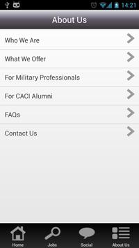 CACI Careers apk screenshot
