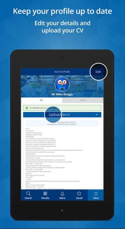 cv-library job search apk download