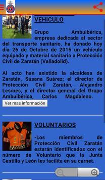 PROTECCION CIVIL ZARATAN apk screenshot