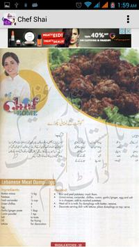Chef Shai Urdu Recipes apk screenshot