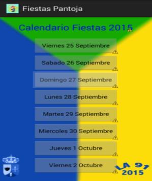 Fiestas Pantoja poster