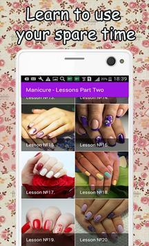 Manicure - Lessons Part Two apk screenshot
