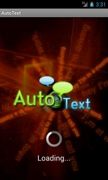 Auto Text Messenger poster
