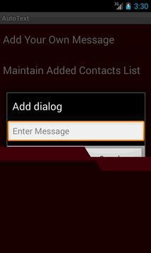 Auto Text Messenger apk screenshot